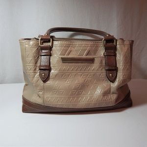 Tignanello Two Tone Leather Purse